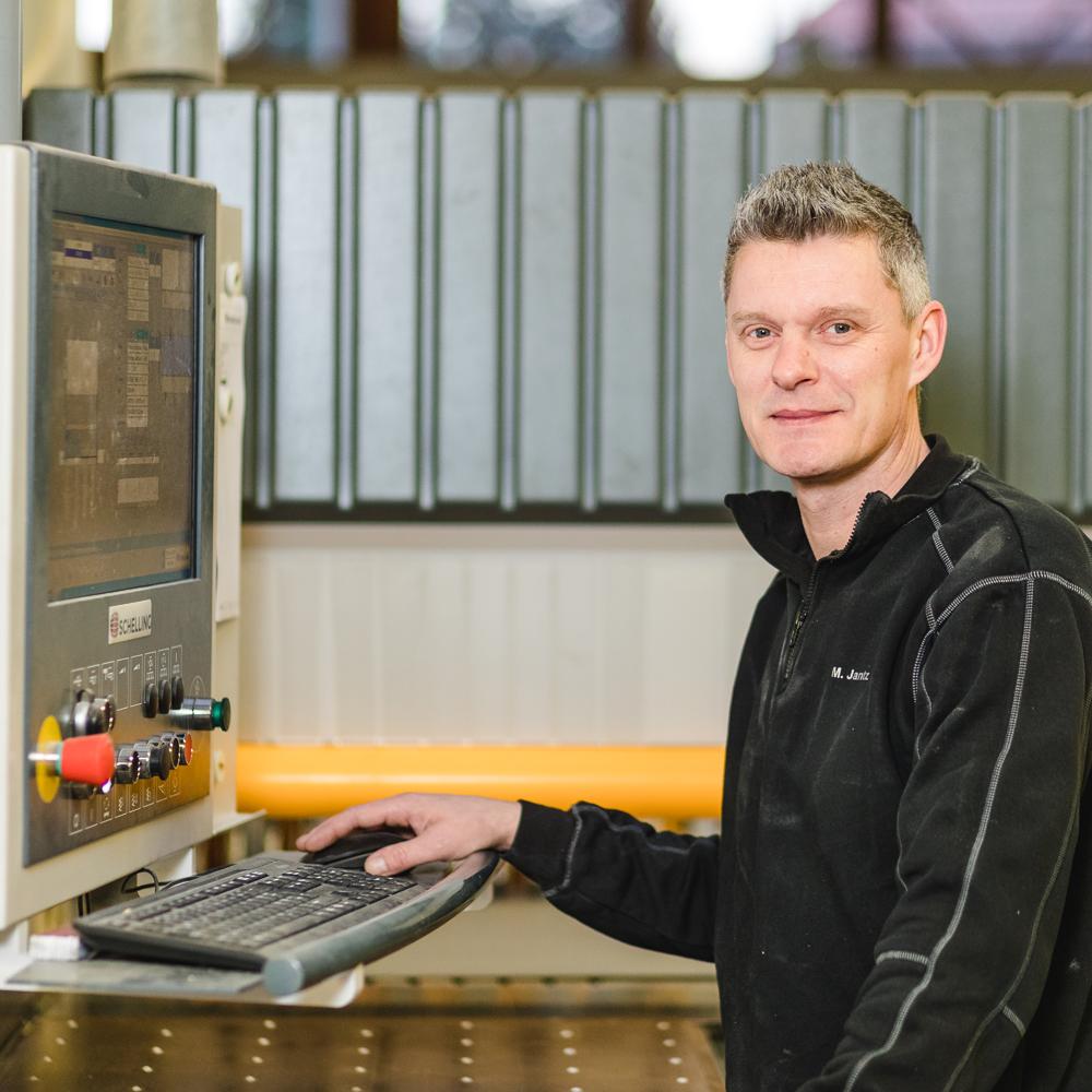 Maik Jantz / Holzmechaniker