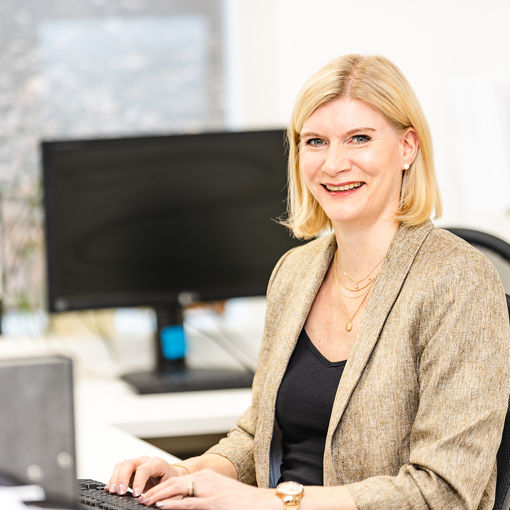 Sandra Leibli Assistenz der Geschäftsleitung Tischlerei Schröer